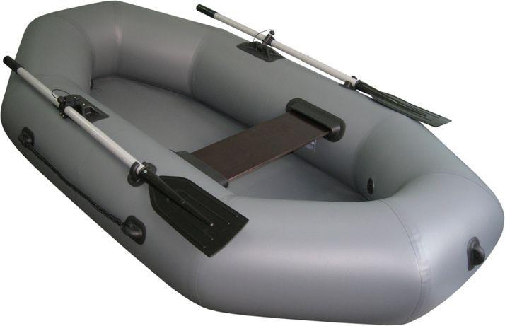 Лодка Тонар Шкипер 220, цвет: серый