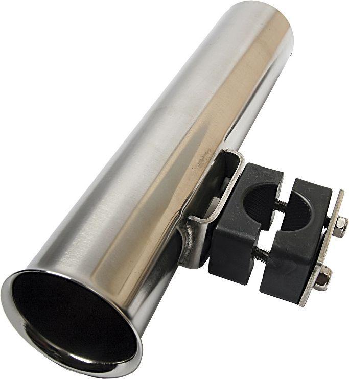 Держатель спиннинга Blind, цвет: серебристый, 25 х 10 х 5,5 см. BLD-12017BLD-12017Держатель удилища Blind - удобный держатель, выполнен из прочного металла. Держатель имеет нижнее крепление. Прибор легко регулируется и устанавливается как в пластиковые, алюминиевые лодки и катера, так и в надувные лодки. Универсальная система крепления обуславливается широким применением держателя.Размеры: 25 х 10 х 5,5 см.