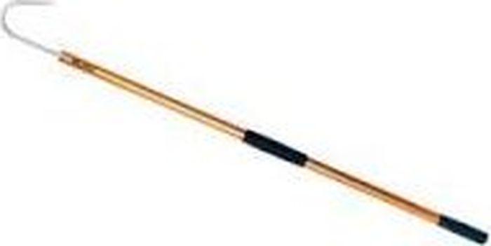 Багор Blind Salmon, цвет: золотистый, 120 см708-13810Багор Blind Salmon - инструмент, который помогает затащить в лодку крупную рыбу, пойманную на момент. Изготовлен багор из прочного материала. Багор не позволит потерять улов. С помощью инструмента можно поднять рыбу на лодку или лед. Удобная рукоятка с специальными вставками, предназначенными, чтобы инструмент не скользил в руках, позволяет с легкостью управлять багром.
