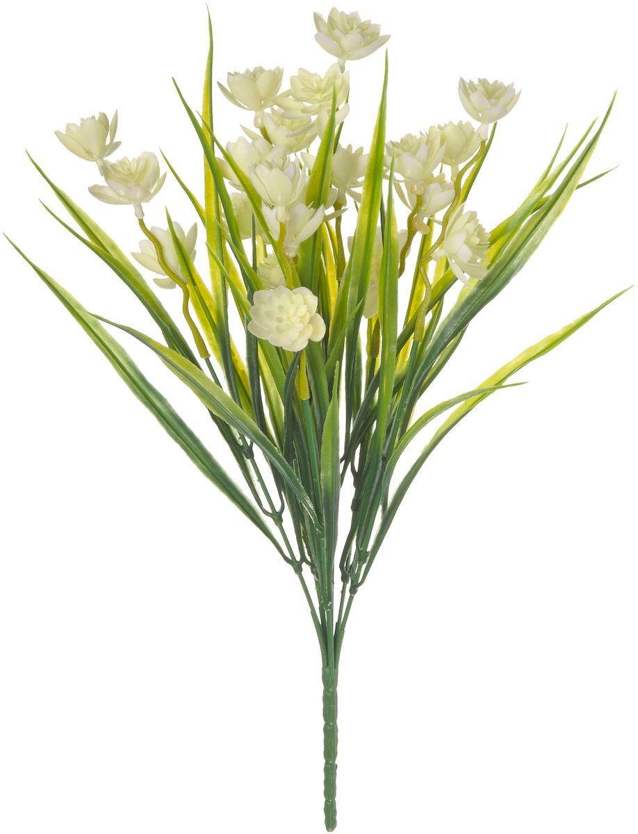 Цветы искусственные Engard Зефирантес, цвет: белый, высота 39 смAF-UC-03Искусственные цветы Engard - это популярное дизайнерское решение для создания природного колорита и индивидуальности в интерьере. Декоративный букет Зефирантес белого цвета обладает мягкой энергетикой, которая благотворно воздействует на атмосферу дома, наполняя ее теплотой и любовью. Данный букет выполнен из высококачественного материала, передающего неповторимую естественность и ничем не уступает живым цветам.Не требует постоянного ухода. Высота: 39 см.