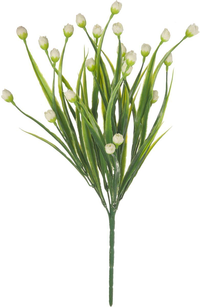 Цветы искусственные Engard Спящая роза, цвет: белый, 36 смAF-UC-04Искусственные цветы Engard - это популярное дизайнерское решение для создания природного колорита и индивидуальности в интерьере. Декоративный букет Спящая роза белого цвета способствует гармонии и нежности и создает атмосферу романтики. Данный букет выполнен из высококачественного материала передающего неповторимую естественность и ничем не уступает живым цветам.Не требует постоянного ухода. Высота: 36 см.