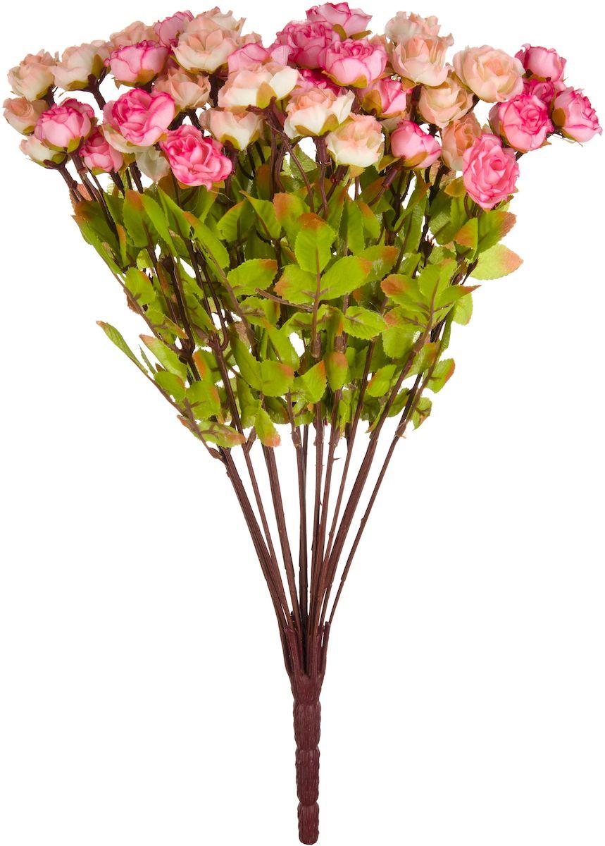 Цветы искусственные Engard Букет роз, 42 смB-YI-16Искусственные цветы Engard - это популярное дизайнерское решение для создания природного колорита и индивидуальности в интерьере. Декоративный букет роз из нежных бутонов выглядит довольно реалистично и является достойной альтернативой натуральным цветам. Розы имеют идеально собранную форму. Не требует постоянного ухода. Размер: 42 см.