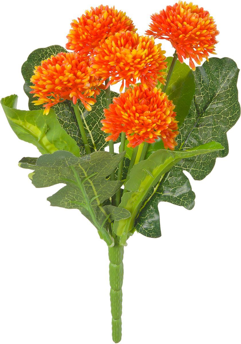Цветы искусственные Engard Бархатцы, цвет: оранжевый, 28 смE4-238Искусственные цветы Engard - это популярное дизайнерское решение для создания природного колорита и индивидуальности в интерьере. Декоративный букет бархацев оранжевого цвета выполнен из высококачественного материала передающие неповторимую естественность и является лучшей альтернативой натуральным цветам. Не требует постоянного ухода. Размер: 28 см.