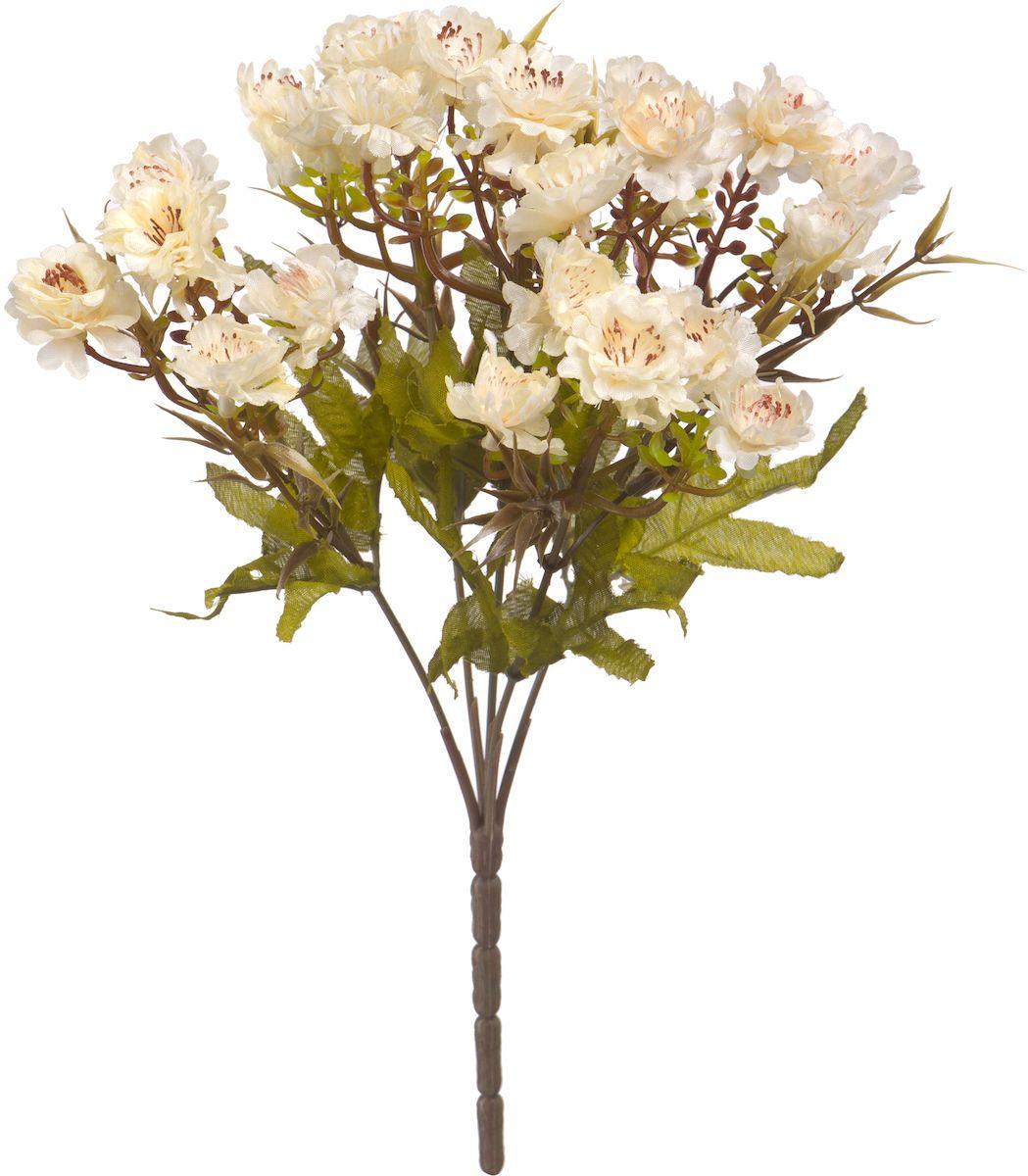 Цветы искусственные Engard Хризантема, цвет: белый, высота 30 смE4-248BИскусственные цветы Engard - это популярное дизайнерское решение для создания природного колорита и индивидуальности в интерьере. Декоративный букет хризантем из пяти цветков белого цвета выглядит довольно реалистично, нежно и является достойной альтернативой натуральным цветам. Хризантемы имеют идеально собранную форму. Не требует постоянного ухода. Высота: 30 см.