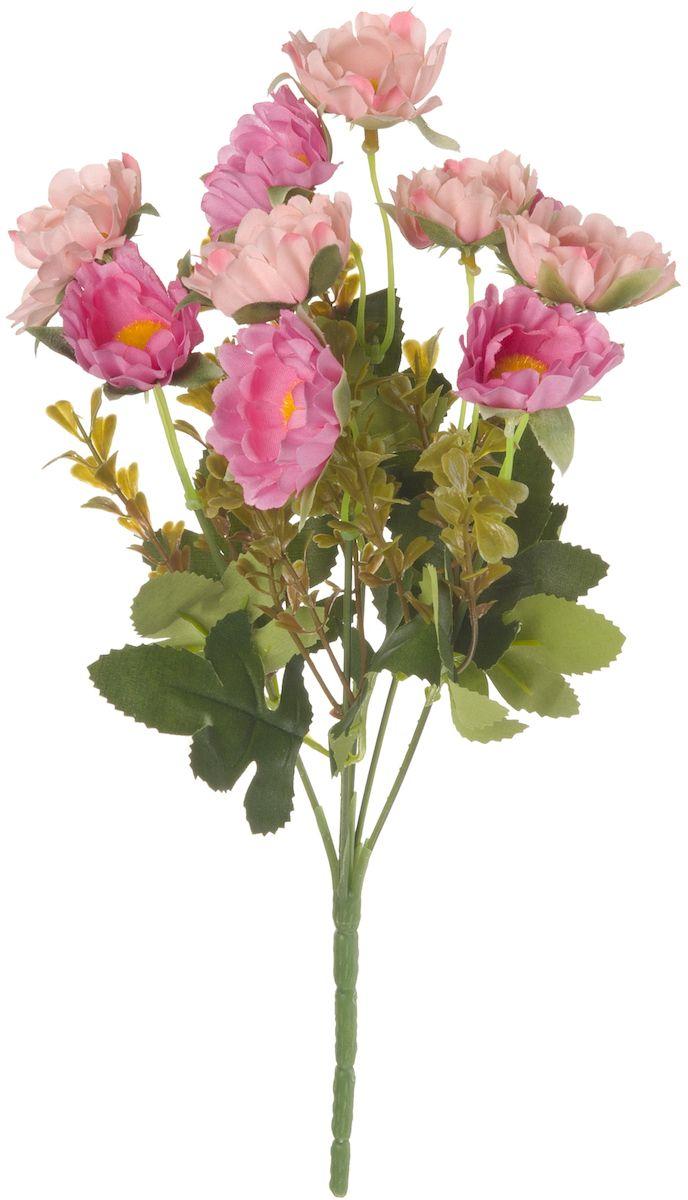 Цветы искусственные Engard Хризантема, цвет: пудровый, 30 смE4-248PHИскусственные цветы Engard - это популярное дизайнерское решение для создания природного колорита и индивидуальности в интерьере. Декоративный букет хризантем из пяти цветков розового цвета выглядит довольно реалистично, нежно и является достойной альтернативой натуральным цветам. Хризантемы имеют идеально собранную форму. Не требует постоянного ухода. Размер: 30 см.