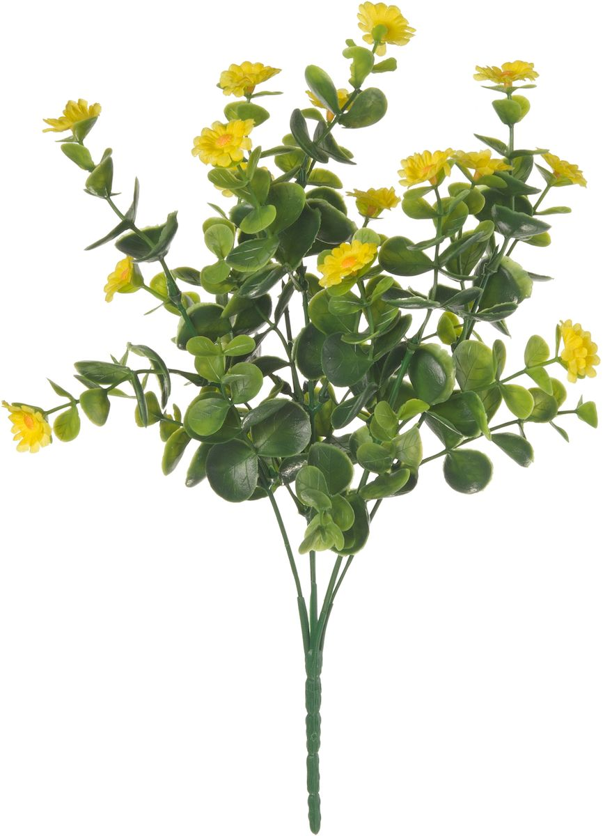 Цветы искусственные Engard Полевой цветок, цвет: желтый, 30 смE4-250Искусственные цветы Engard - это популярное дизайнерское решение для создания природного колорита и индивидуальности в интерьере.Искусственный полевой цветок желтого цвета выполнен из высококачественного материала передающего неповторимую естественность и является достойной альтернативой живым цветам. Не требует постоянного ухода.