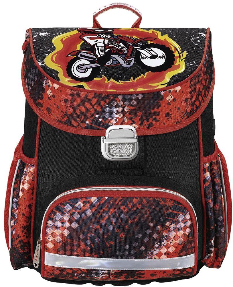 Hama Ранец школьный Motorbike цвет черный139073
