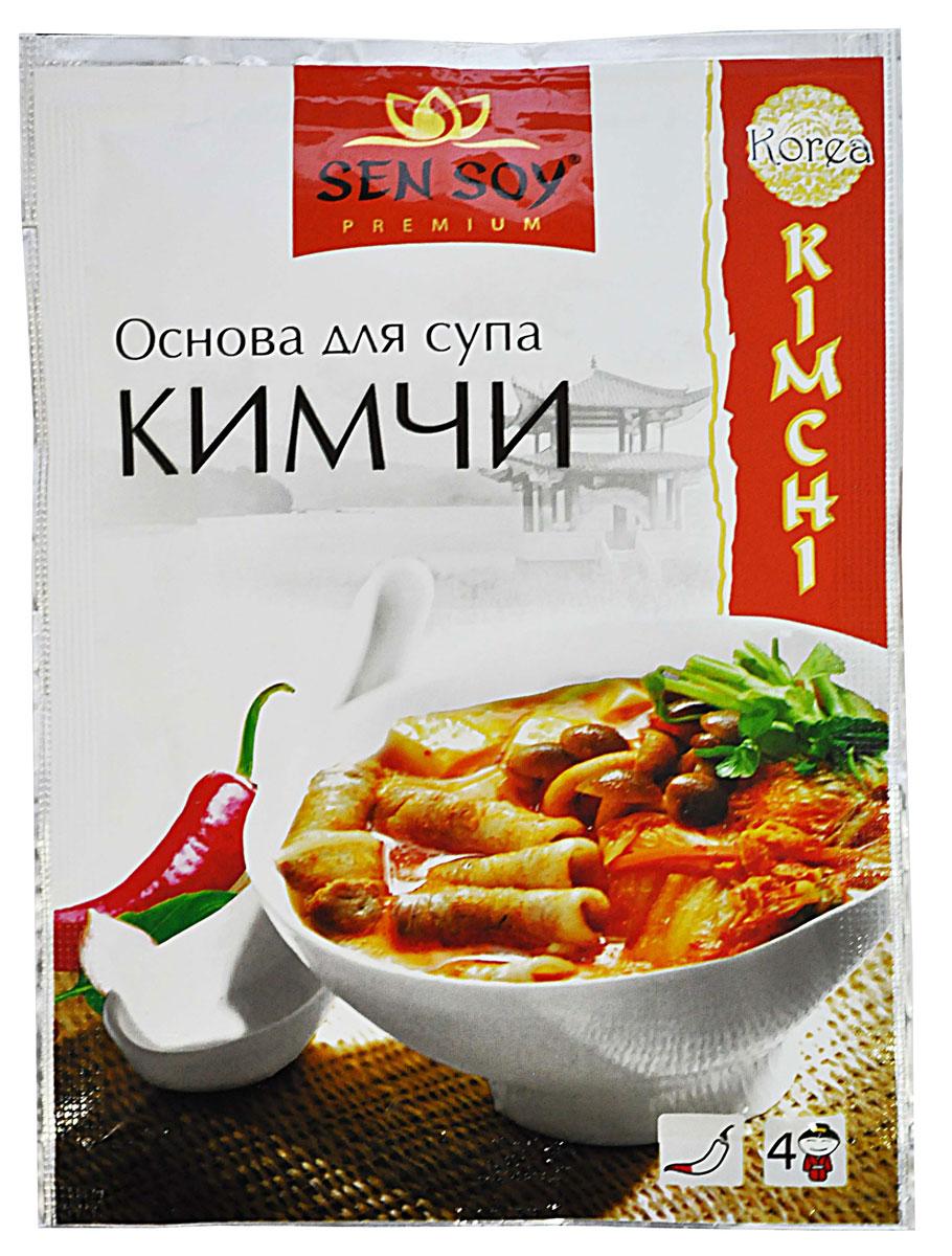 Sen Soy Кимчи основа для супа, 80 г21382В Корее Кимчи считается основным блюдом, без которого не обходится ни одна трапеза. Самый популярный ингредиент для кимчи – это пекинская капуста. С капустой и большим количеством красного жгучего перца готовят не только закуски, но и суп Кимчи. Суп Кимчи готовят с небольшим количеством жидкости. Потому он получается достаточно густым и насыщенным. Суп идеально подходит на все случаи жизни: он согревает зимой, помогает от похмелья на завтрак, служит лекарством, когда вы простудитесь, и когда нет времени, чтобы приготовить обед. Кстати, корейский суп необходимо съесть за один раз, так как разогревать его не принято. Основа для супа Кимчи от Sen Soy Premium - это сочетание красного перца, имбиря, рисового уксуса и рыбного соуса. Она незаменима для приготовления супа кимчи, но может использоваться как дополнение к другим блюдам, особенно к рису. Она прекрасно сочетается с овощами, мясом и морепродуктами