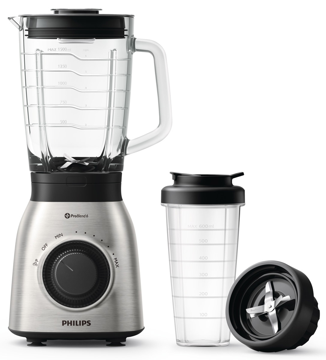 Philips Viva Collection HR3556/00 блендер со стаканом On the Go philips avance collection hr 1919 70