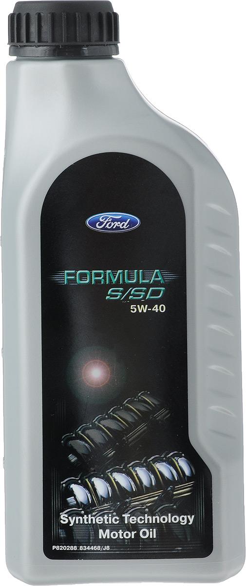 Моторное масло Ford Formula, синтетическое, 5W-40, 1 л15152A/1502258Моторное масло Ford Formula - полностью синтетическое моторное масло с высокими эксплуатационными характеристиками для бензиновых и дизельных двигателей, включая двигатели TDI, а также двигатели, оборудованные сажевыми фильтрами. Обеспечивает защиту от износа и образования отложений. Способствует максимальному снижению трения, увеличению мощности и ресурса двигателя. Выполняет требования спецификации Ford M2C917-A. Допуски: OEM: WSS-M2C917-AACEA:A3/B4/C3API: SM/CF.Товар сертифицирован.