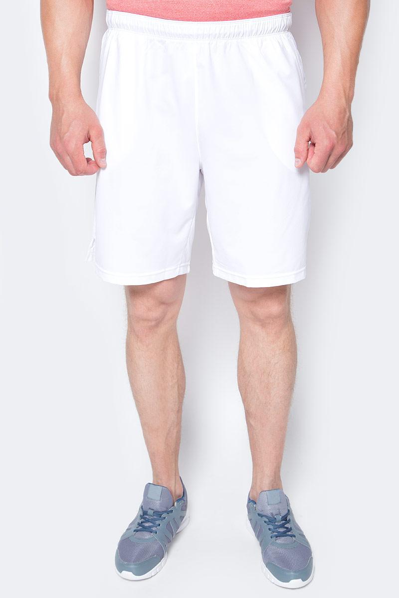 Шорты мужские Wilson Rush 9 Woven Short, цвет: белый. WRA746601. Размер XL (54) шорты для тенниса мужские wilson knit 9 short цвет черный wra746803 размер xl 54