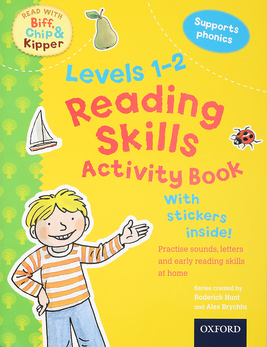Reading Skills Activity Book: Levels 1-2 oxford reading tree songbirds level 4 my cat and other stories