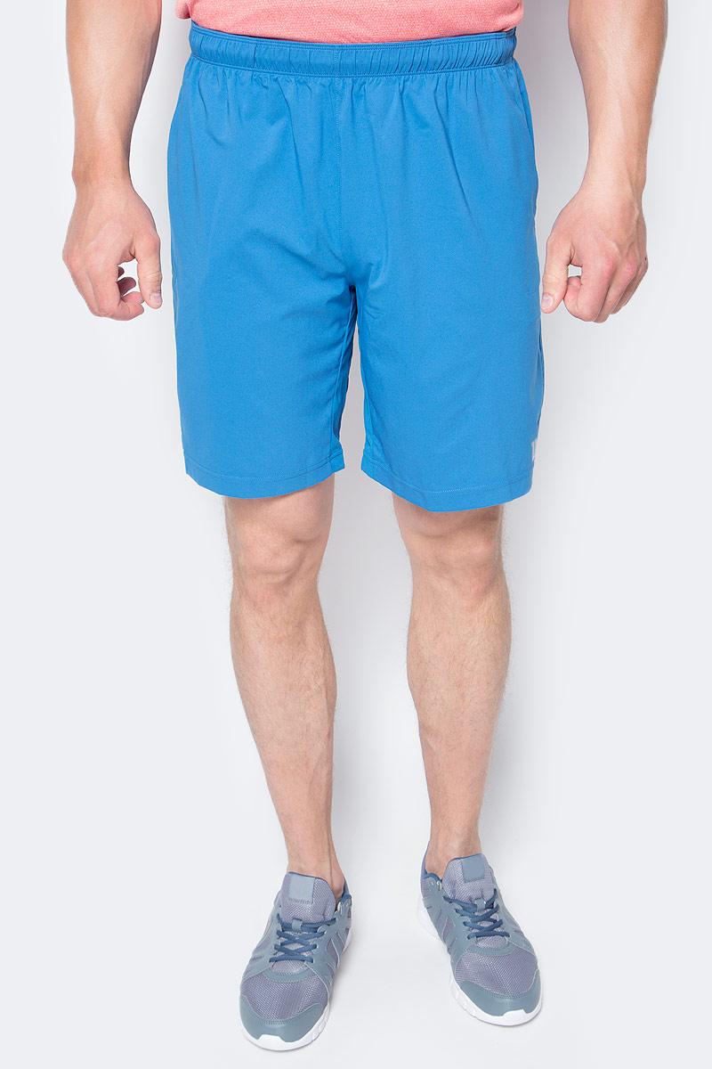 Шорты мужские Wilson Rush 9 Woven Short, цвет: темно-голубой. WRA746602. Размер XL (54)WRA746602Мужские шорты для тенниса Wilson Rush 9 Woven - это незаменимый атрибут в гардеробе любого спортсмена. Стильные удобные шортывыполнены из 100% полиэстера, благодаря чему превосходно сидят, не стесняют движений и великолепно отводят влагу, оставляя тело сухим даже во время интенсивных тренировок.Модель дополнена широкой эластичной резинкой на талии. Шорты имеют два втачных кармана спереди. Устремляясь за очередным укороченным ударом и высоким мячом, используйте всю силу ног, а легкие шорты помогут вам в этом: они подаряткомфорт и полную свободу движений. Эти модные шорты послужат отличным дополнением к вашему спортивному гардеробу. В них вы всегдабудете чувствовать себя уверенно и комфортно.