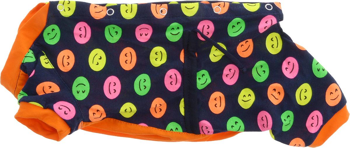 Комбинезон для собак Yoriki  Смайлик , для девочки. Размер L. 468-23 - Одежда, обувь, украшения