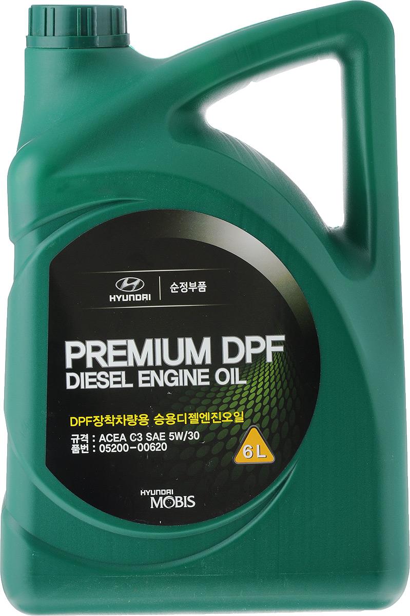 Масло моторное Hyundai / KIA Premium LS Diesel, синтетическое, класс вязкости 5W30, 6 л05200-00620Моторное масло Hyundai / KIA Premium LS Diesel - это новейшее синтетическое беззальное моторное масло разработанное эксклюзивно дляHYUNDAI и KIA для новейших дизельных двиггателей выпуска с 2007/2008 года. Произведено по технологии Low SAPS- т.е беззольное, с минимальным содержанием серы и фосфора. Моторное масло Hyundai / KIA Premium LS Diesel:- Совместимо со всеми системами нейтрализации выхлопных газов, в том числе оснащенных сажевым фильтром DPF. Рекомендуется использовать в автомобилях с 2007-2008 г.в.- Обеспечивают облегченный пуск двигателя при отрицательных температурах, - Высокие моющие качества.- Отличная защита от износа, отложений, нагара и шлама.Товар сертифицирован.