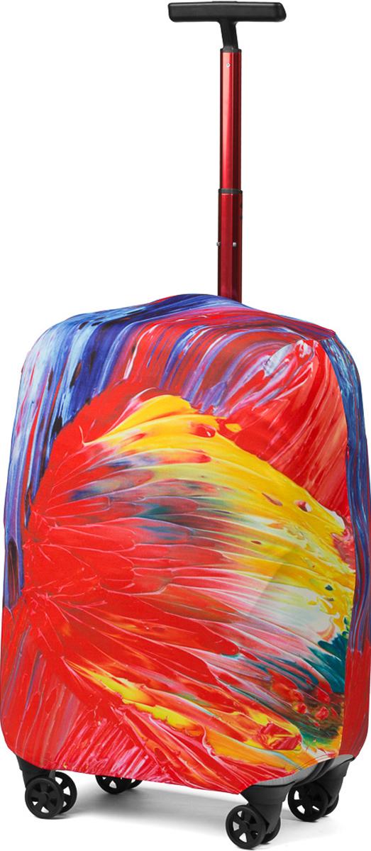 Чехол для чемодана RATEL Краски дня. Размер M (высота чемодана: 57-64 см.)A002MСтильный и практичный чехол RATEL всегда защитит ваш чемодан. Размер М предназначен для средних чемоданов высотой от 57 см до 64 см (только высота чемодана без учета высоты колес). Благодаря прочной иэластичной ткани чехол RATEL отлично садится на любой чемодан. Все важные части чемодана полностью защищены, а для боковых ручек предусмотрены две потайные молнии. Внизу чехла - упрочненная молния-трактор. Ткань чехла приятная на ощупь, не скользит и легко надевается на чемодан. Наличие запатентованного кармашка на чехле служит ориентиром и позволяет быстро и правильнонадеть чехол.Назначение чехла Ratel:Защищает чемодан от пыли, грязи иразных повреждений. Экономит ваши деньги и время на обмотке пленкой чемодана в аэропорту. Защищает ваш багаж от вскрытия. Предупреждает перевес. Чехол легко и быстро снять с чемодана и переложить лишние вещи, в отличие от обмотки. Яркая индивидуальность. Вы никогда не перепутаете свой чемодан с чужим как на багажной ленте в аэропорту, так ив туристическом автобусе. Легкий и компактный, не добавляет веса, не занимает места. Складывается сам в себя. Характеристики:Материал: бифлекс, плотность - 240 грамм.Тип застежки: молния. Размер чемодана: M (высота чемодана: 57-64 см без учета высоты колес).