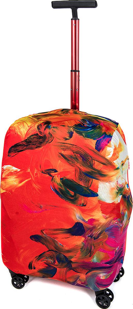 Чехол для чемодана RATEL Рассвет. Размер M (высота чемодана: 57-64 см.)A004Mчемодана: S (высота чемодана: 45-50 см без учета высоты колес).