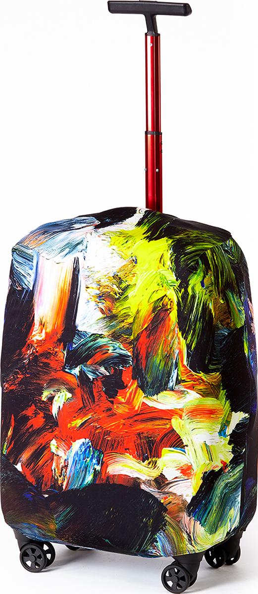 Чехол для чемодана RATEL Яркие краски. Размер M (высота чемодана: 57-64 см.)
