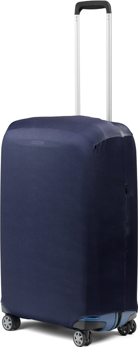 Чехол для чемодана RATEL Синий. Размер M (высота чемодана: 57-64 см.)B003MСтильный и практичный чехол RATEL всегда защитит ваш чемодан. Размер М предназначен для средних чемоданов высотой от 57 см до 64 см(только высота чемодана без учета высоты колес). Благодаря прочной иэластичной ткани чехол RATEL отлично садится на любой чемодан. Всеважные части чемодана полностью защищены, а для боковых ручек предусмотрены две потайные молнии. Внизу чехла - упрочненная молния- трактор. Ткань чехла приятная на ощупь, не скользит и легко надевается на чемодан. Наличие запатентованного кармашка на чехле служиториентиром и позволяет быстро и правильнонадеть чехол. Назначение чехла Ratel:Защищает чемодан от пыли, грязи иразных повреждений. Экономит ваши деньги и время наобмотке пленкой чемодана в аэропорту. Защищает ваш багаж от вскрытия. Предупреждает перевес. Чехол легко и быстро снять счемодана и переложить лишние вещи, в отличие от обмотки. Яркая индивидуальность. Вы никогда не перепутаете свой чемодан с чужимкак на багажной ленте в аэропорту, так ив туристическом автобусе. Легкий и компактный, не добавляет веса, не занимает места.Складывается сам в себя. Характеристики:Материал: бифлекс, плотность - 240 грамм.Тип застежки: молния. Размерчемодана: M (высота чемодана: 57-64 см без учета высоты колес).