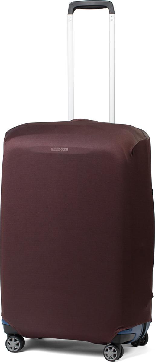 Чехол для чемодана RATEL Коричневый. Размер M (высота чемодана: 65-75 см)