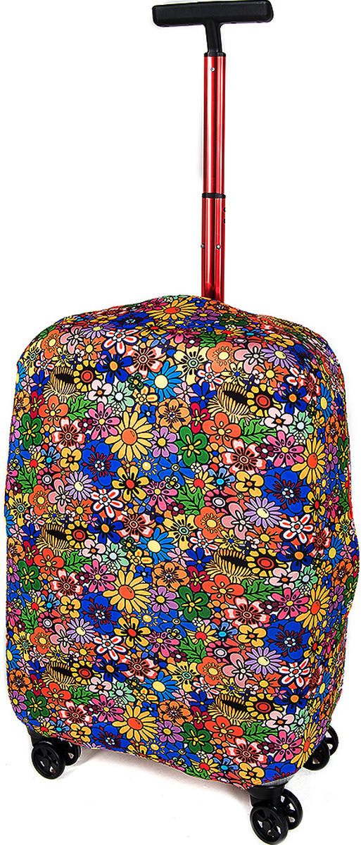Чехол для чемодана RATEL  Луг . Размер S (высота чемодана: 45-50 см.) - Чемоданы и аксессуары
