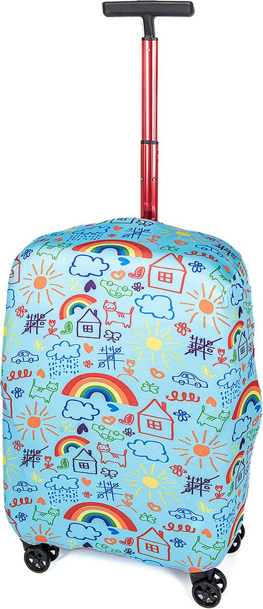 Чехол для чемодана RATEL Фантазия. Размер M (высота чемодана: 57-64 см.)