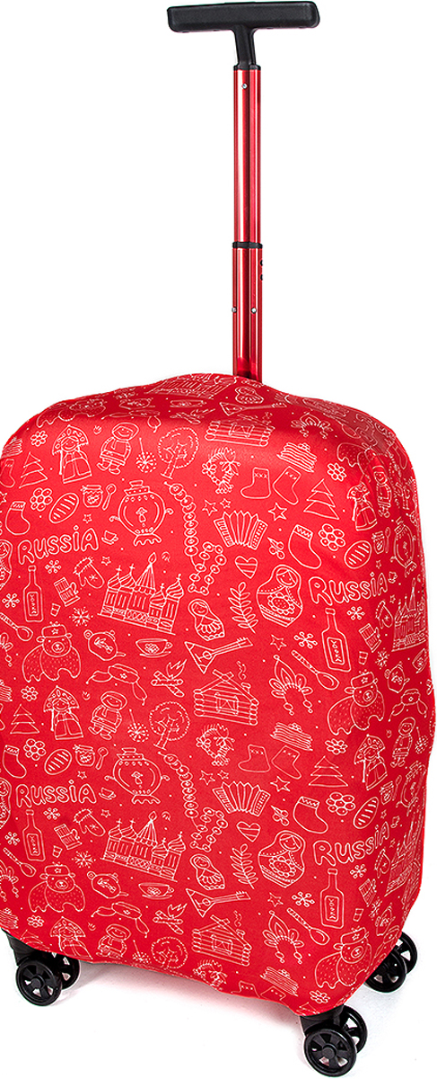 Чехол для Чемодана RATEL  Красная Москва . Размер M (высота чемодана: 57-64 см.) - Чемоданы и аксессуары