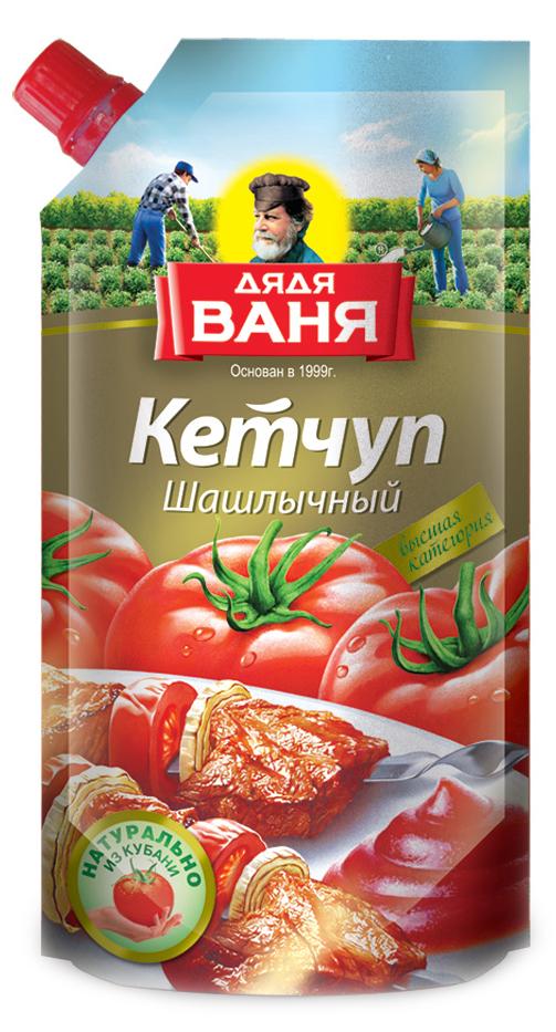 Дядя Ваня кетчуп шашлычный ГОСТ, 330 гDV-4607002997961Ароматный яркий кетчуп, идеально подходящий для колбасных и мясных блюд.