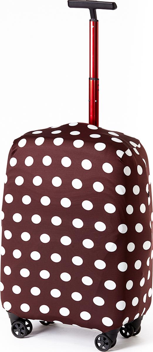 Чехол для чемодана RATEL Горох шоколад. Размер L (высота чемодана: 65-75 см.) чемодан samsonite чемодан 80 см pro dlx 4