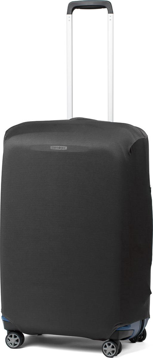 Чехол для чемодана Ratel, цвет: черный. Размер SB001SСтильный и практичный чехол Ratel создан для защиты вашего чемодана. Размер S предназначен для маленьких чемоданов высотой от 49 см до 55 см. Благодаря очень прочной и эластичной ткани чехол Ratel отлично садится на любой чемодан. Все важные части чемодана полностью защищены, а для боковых ручек предусмотрены две потайные молнии. Внизу чехла - упрочненная молния-трактор. Наличие запатентованного кармашка служит ориентиром и позволяет быстро и правильно надеть чехол на чемодан. Ткань чехла - приятна на ощупь, легко стирается и долго сохраняет свой первоначальный вид.Назначение чехла Ratel:Защищает чемодан от пыли, грязи иразных повреждений. Экономит ваши деньги и время на обмотке пленкой чемодана в аэропорту. Защищает ваш багаж от вскрытия. Предупреждает перевес. Чехол легко и быстро снять с чемодана и переложить лишние вещи, в отличие от обмотки. Яркая индивидуальность. Вы никогда не перепутаете свой чемодан с чужим как на багажной ленте в аэропорту, так ив туристическом автобусе. Легкий и компактный, не добавляет веса, не занимает места. Складывается сам в себя. Характеристики:Материал: Бифлекс, плотность - 240 грамм.Тип застежки: молния. Размер чемодана: 49-55 см.