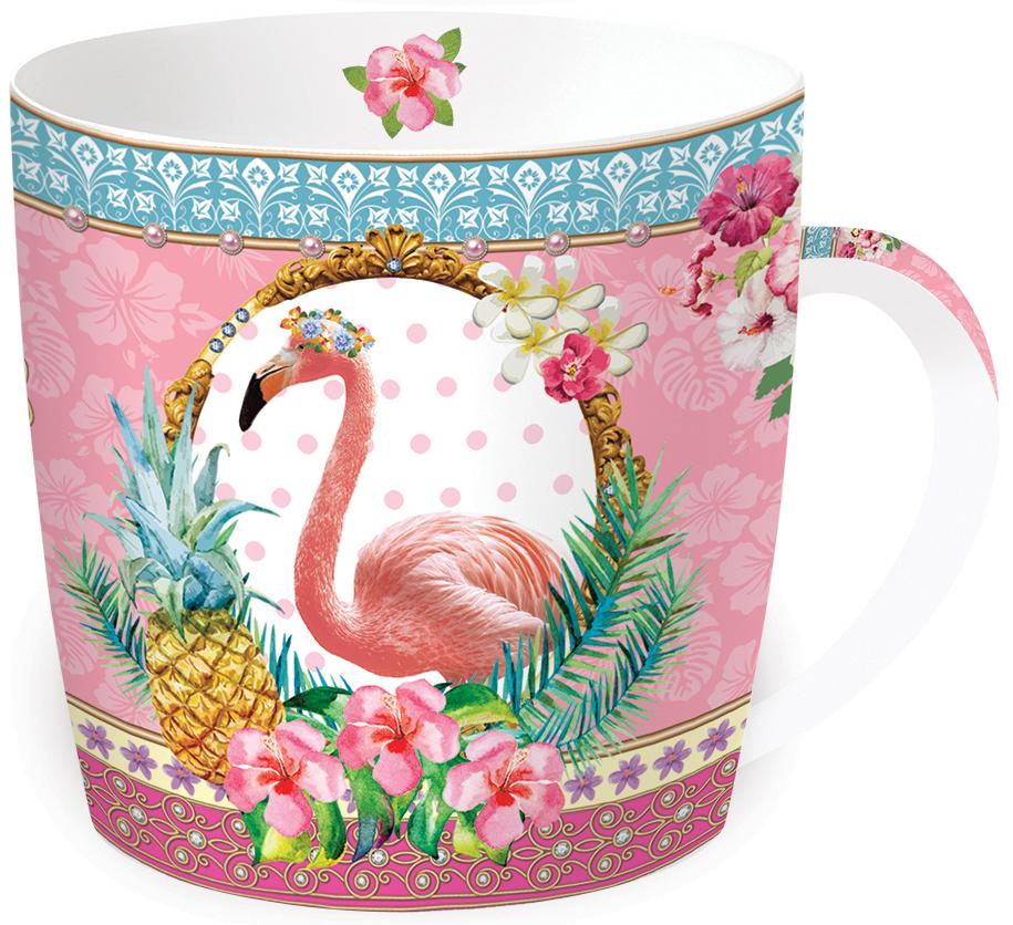 Кружка Nuova R2S Фламинго, 350 мл217FLAMКружка Фламинго выполнена из фарфора. Изделие отличается современным дизайном и легкостью в эксплуатации. Кружка Nuova R2S не только современный подарок, но и украшение для дома.