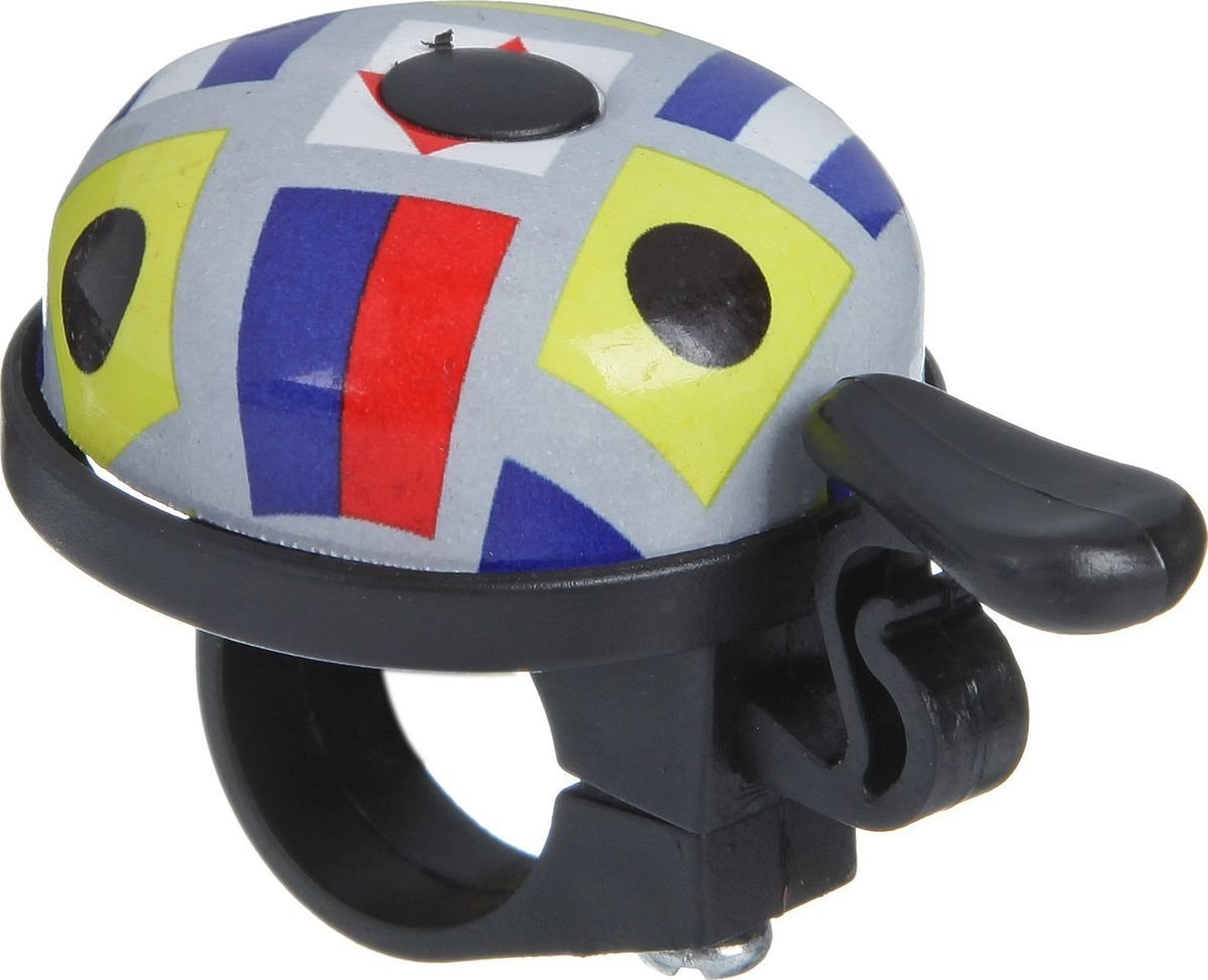 Звонок велосипедный STG, ударный насос велосипедный stg gp 46l ручной