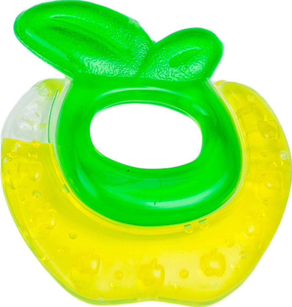 Canpol Babies Прорезыватель охлаждающий Яблочко цвет желтый canpol babies прорезыватель охлаждающий ягодка цвет красный