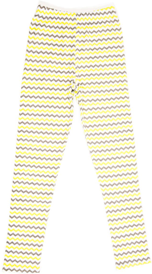 Леггинсы для девочки LeadGen, цвет: желтый. G620050915-171. Размер 110G620050915-171Леггинсы для девочки LeadGen выполнены из хлопкового трикотажа. Модель на талии дополнена эластичной резинкой.