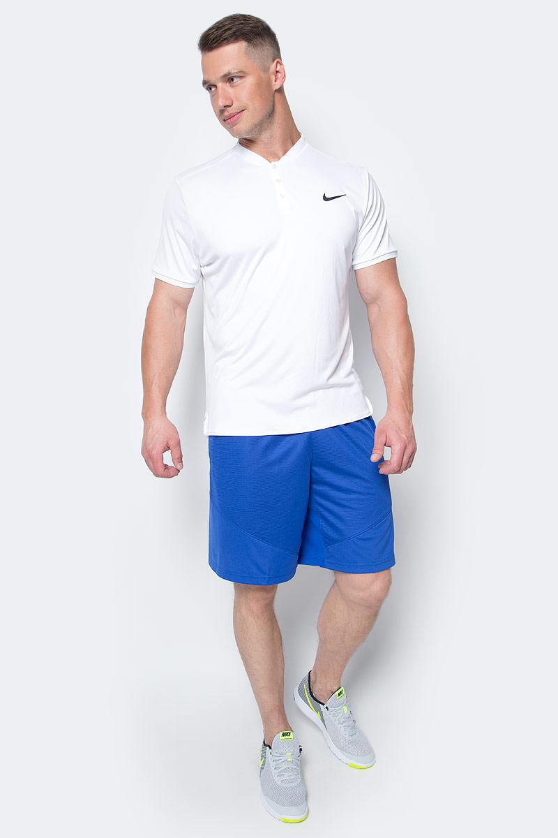 Шорты мужские Nike Hbr Short, цвет: синий. 718830-480. Размер M (46/48)718830-480Шорты Hbr Short от Nike выполнены из мягкого текстиля. Свободный крой и эластичный пояс на талии обеспечат комфорт.