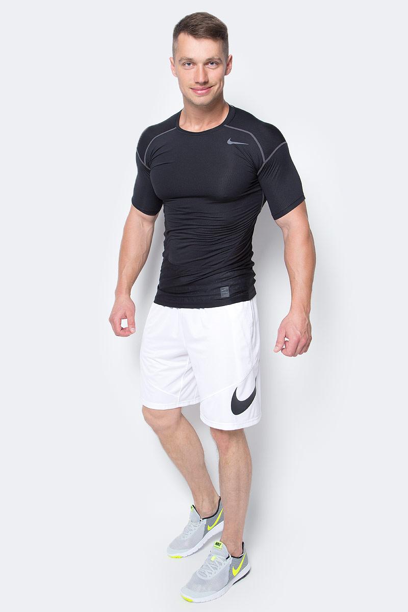 Шорты мужские Nike Hbr Short, цвет: белый. 718830-100. Размер M (46/48)718830-100Шорты Hbr Short от Nike выполнены из мягкого текстиля. Свободный крой и эластичный пояс на талии обеспечат комфорт.