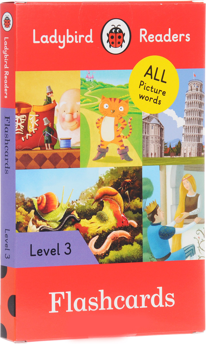 Ladybird Readers: Level 3: Flashcards цена