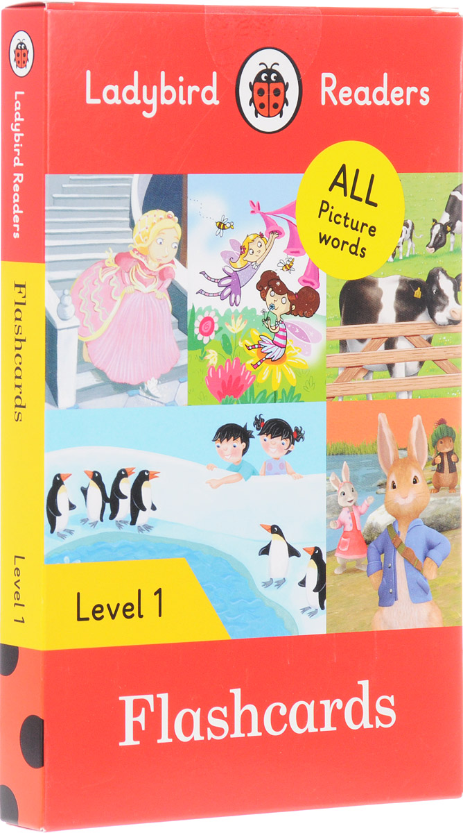 Ladybird Readers: Level 1: Flashcards