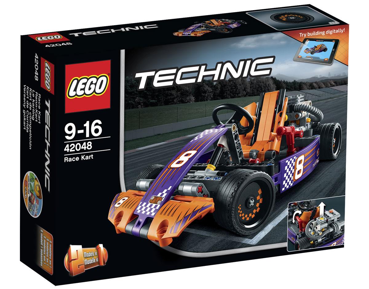 LEGO Technic Конструктор Гоночный карт 42048 lego technic конструктор гоночный автомобиль для побега