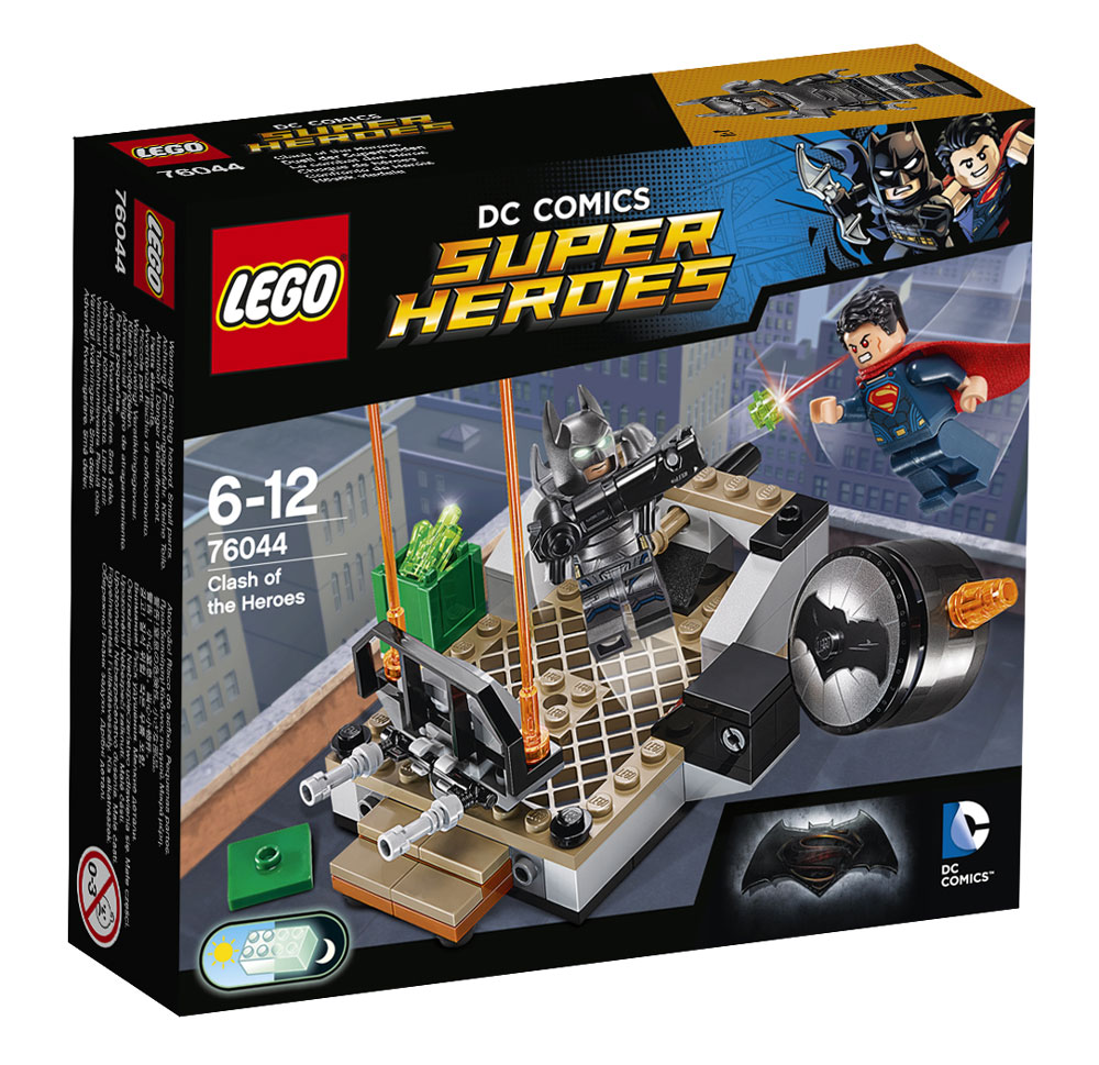 LEGO Super Heroes Конструктор Битва супергероев 76044 ночники lego игрушка минифигура фонарь lego dc super heroes супер герои dc batman бэтмен на подставке
