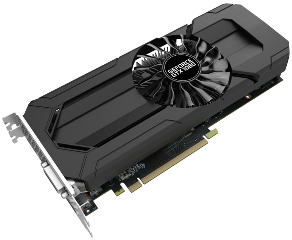 Palit GeForce GTX 1060 StormX 6GB видеокарта