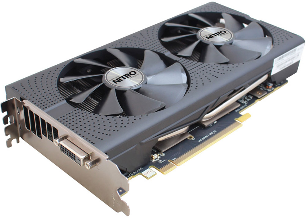 Sapphire Nitro Radeon RX 470 8GB видеокарта (11256-32-10G) sapphire nitro radeon rx 580 8gb видеокарта