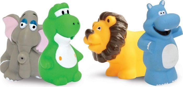 Lubby Набор игрушек для купания Африка от 12 месяцев 4 шт lubby нагрудник детский с рукавами в мире животных