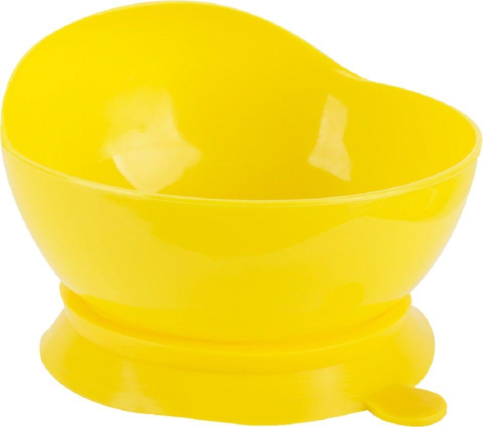 Lubby Тарелка с присоской 280 мл от 6 месяцев14421Тарелка на присоске Lubby для кормления незаменима в период, когда ваш малыш учится есть самостоятельно. Тарелочка не скользит по столу благодаря присоске, она надежно фиксирует положение тарелки на столе или любой другой гладкой поверхности. При необходимости тарелка легко снимается взрослым. Благодаря высоким бортикам, пища дольше остается теплой.
