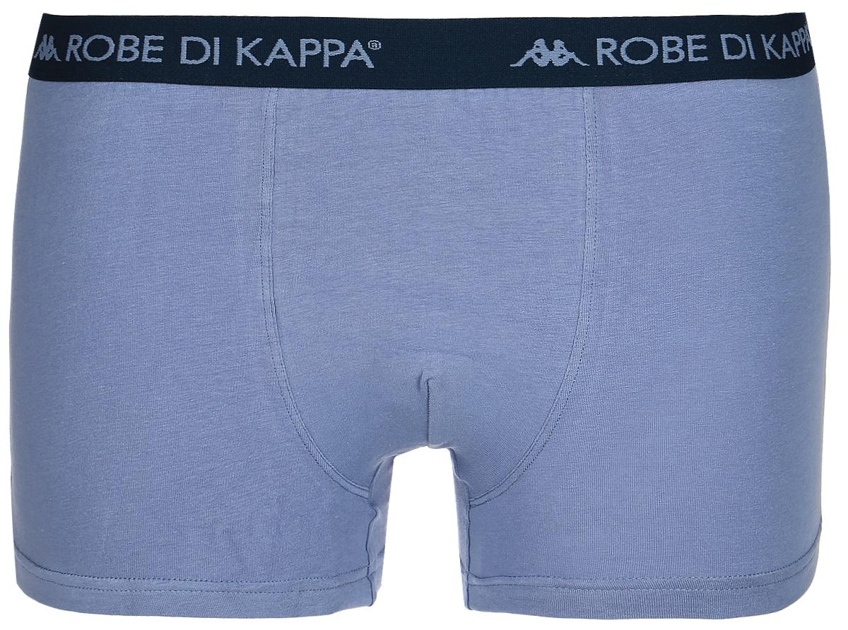 Трусы-боксеры мужские Robe Di Kappa, цвет: синий. 6904. Размер M (48) jianjiang мужские трусы боксеры 2 шт