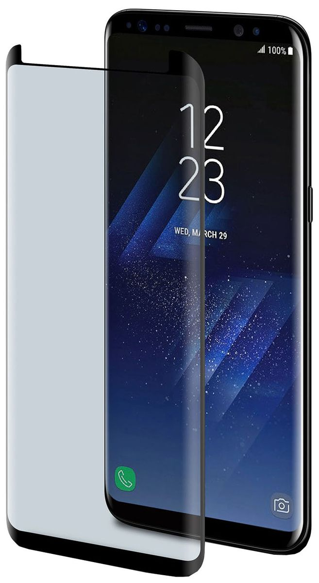 Celly Full Glass защитное стекло для Samsung Galaxy S8, Black цена и фото