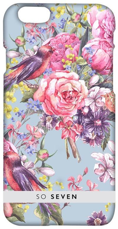 So Seven Summer Chic Oiseaux чехол для Apple iPhone 7/8 чехол накладка чехол накладка iphone 6 6s 4 7 lims sgp spigen стиль 1 580075