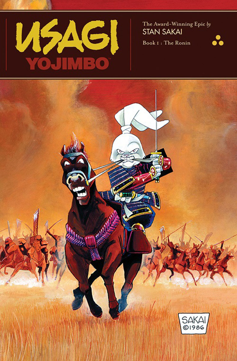 Usagi Yojimbo: Book 1: The Ronin usagi yojimbo book 5 lone goat and kid