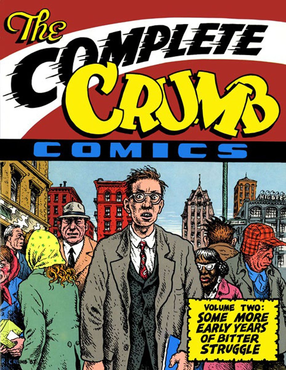 The Complete Crumb Comics: Vol.2 the complete crumb comics vol 8