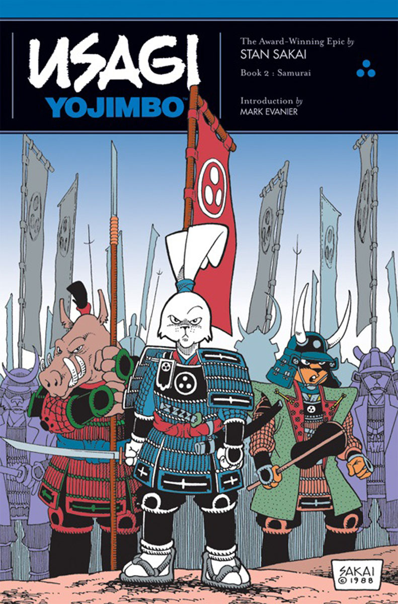 Usagi Yojimbo: Book 2: Samurai usagi yojimbo book 5 lone goat and kid